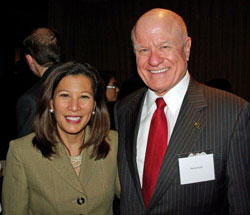 Tani Cantil-Sakauye and Patrick Kelly