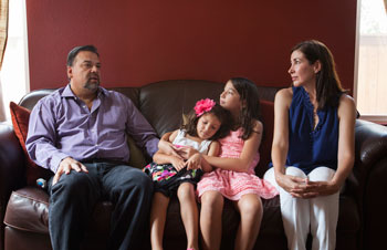 Luis Rodriguez and family