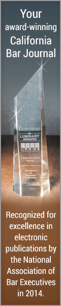 Luminary Award California Bar Journal